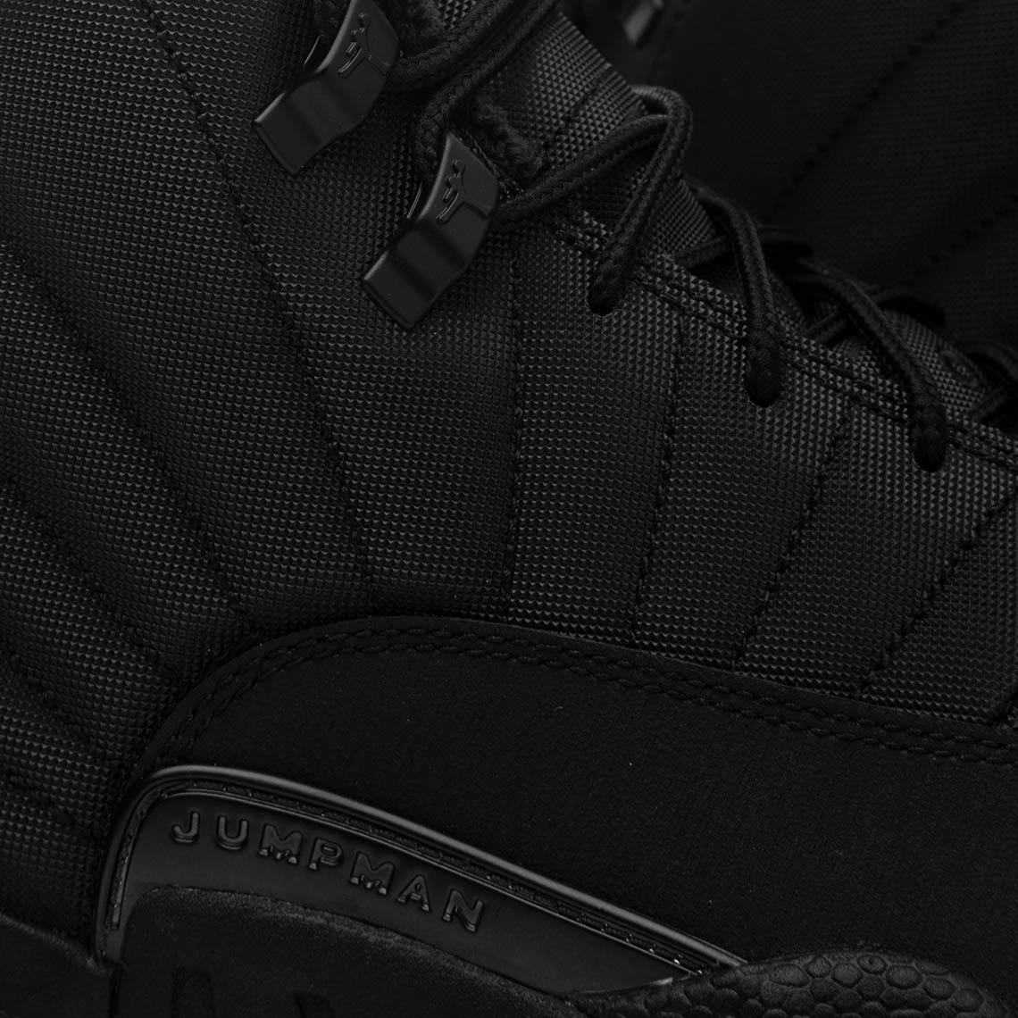 info for 78733 941ed Jordan 12 Winter All Black BQ6851-001 Store List ...