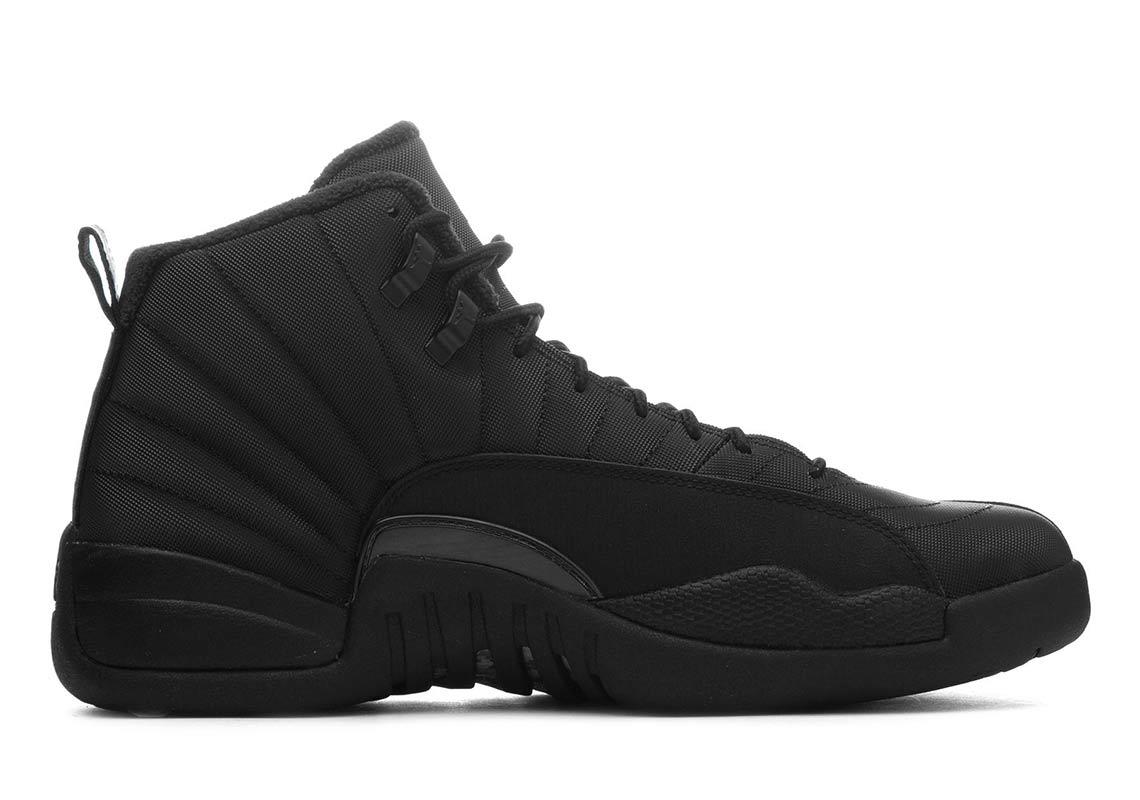5d51c827222f Jordan 12 Winter All Black BQ6851-001 Store List