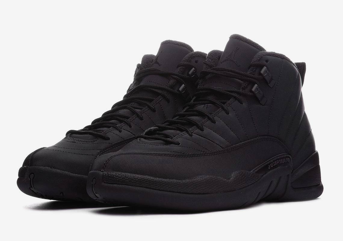 info for 0de41 84cc1 Jordan 12 Winter All Black BQ6851-001 Store List ...
