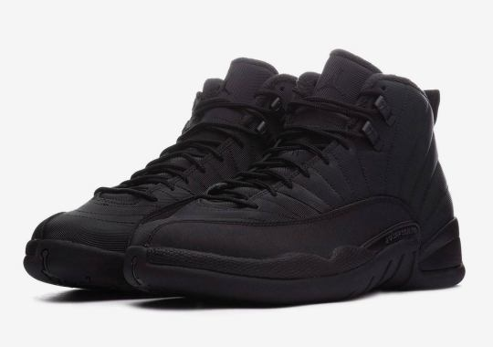 "af93eb88fa7 Where To Buy The Air Jordan 12 Winterized ""Triple Black"""