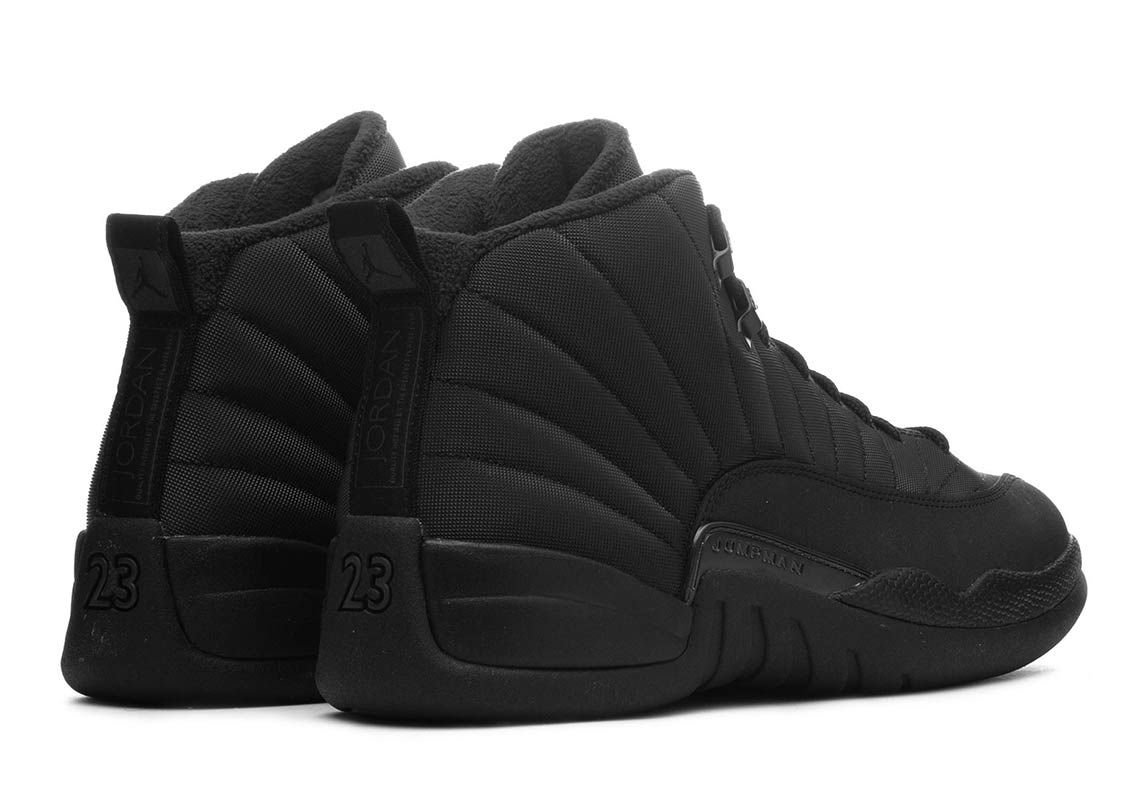 3da1c4093d01 Jordan 12 Winter All Black BQ6851-001 Store List