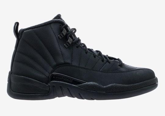 "67c1b53f90fd The Air Jordan 12 Winterized ""Triple Black"" Releases On December 15th"