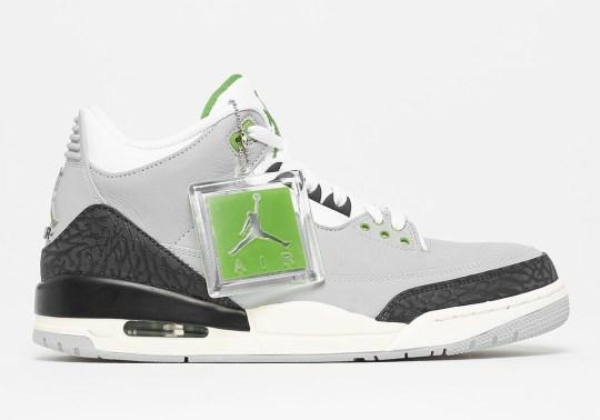"Where To Buy The Air Jordan 3 ""Chlorophyll"""