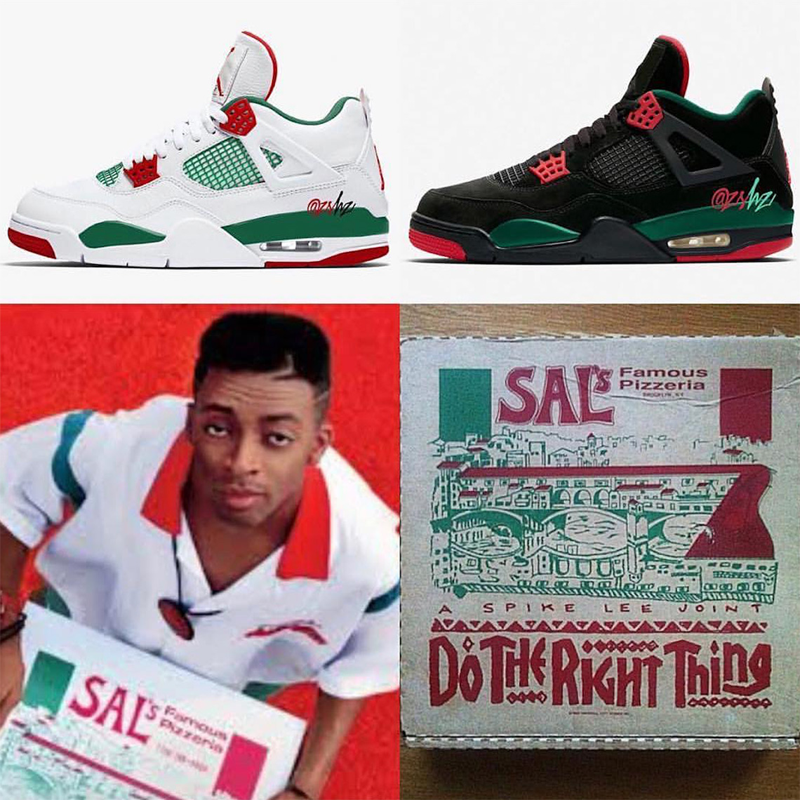 new concept 57379 6b101 Air Jordan 4 Do The Right Thing Release Info | SneakerNews.com