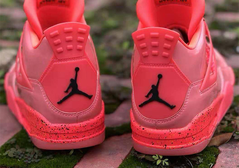 "1ee5c0e6bb70d2 The Air Jordan 4 Brings Back Patent Leather With ""Hot Punch"""