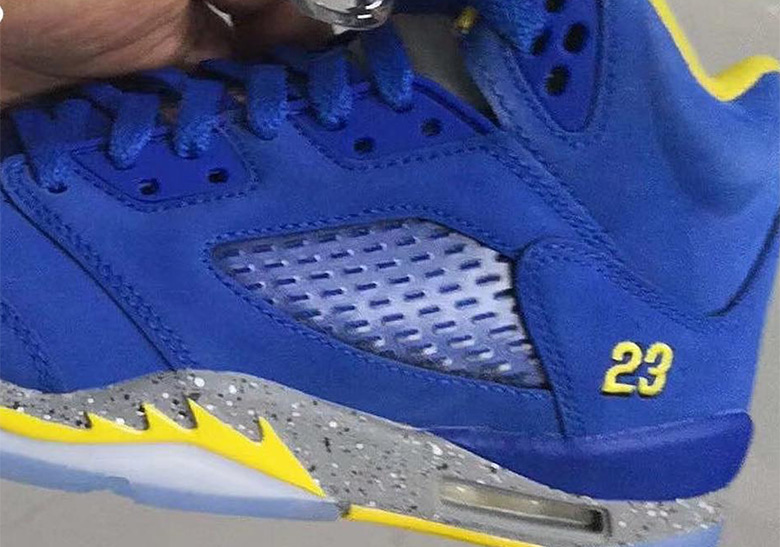 Jordan 5 Jsp Laney Varsity Royal Maize Release Info Sneakernews