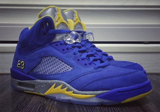 "The Air Jordan 5 Retro+ ""Laney"" Is Releasing On January 19th"