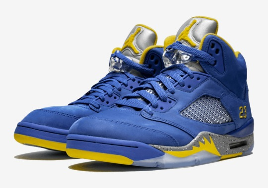 "1b8892176153 The Air Jordan 5 Retro+ ""Laney"" Is Releasing On February 2nd"