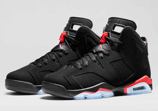 "ef881a67984 FL Unlocked FL; The Air Jordan 6 ""Infrared"" GS Could Be Restocking On  November 30th; Air Jordan 6 Retro Black Cat 3M Mens Air Jordans ..."