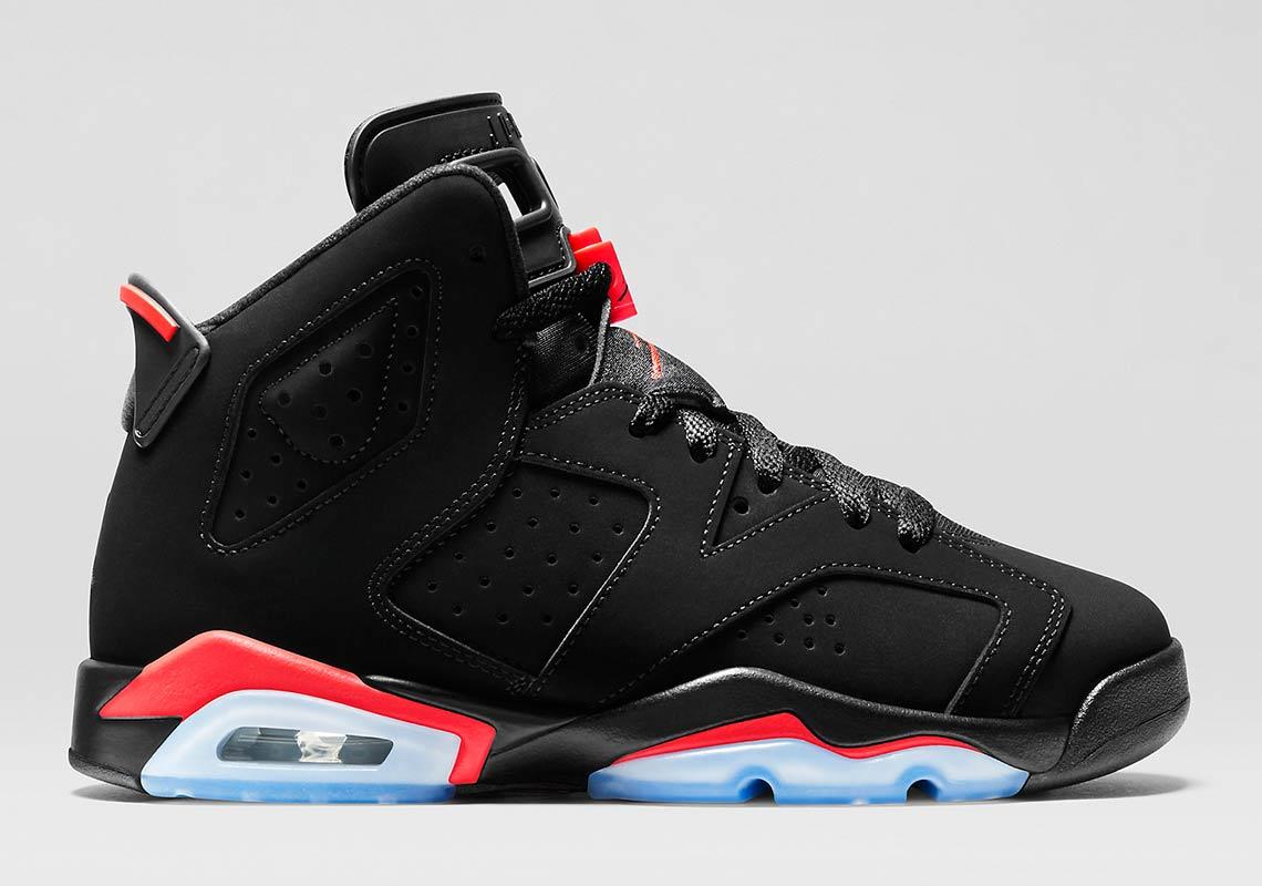 online retailer a13d7 c4fa2 Jordan 6 Infrared GS 384665-023 Restock Info | SneakerNews.com