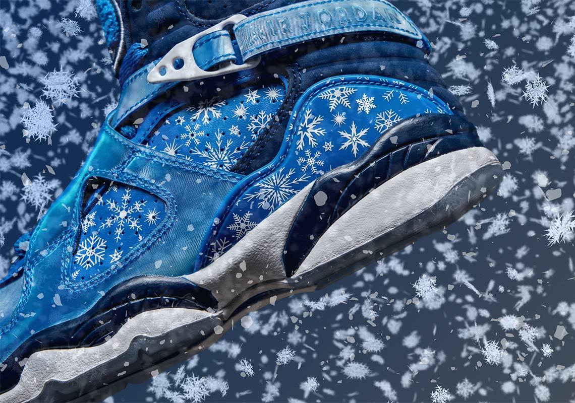 Jordan 8 Snowflake 305368-400 Store