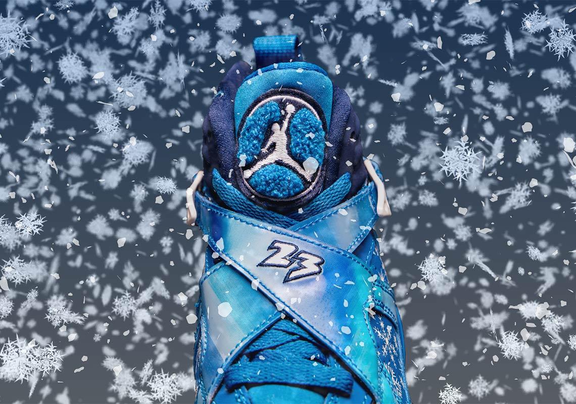 wholesale dealer 27d13 4bb3e Jordan 8 Snowflake 305368-400 Store List   SneakerNews.com