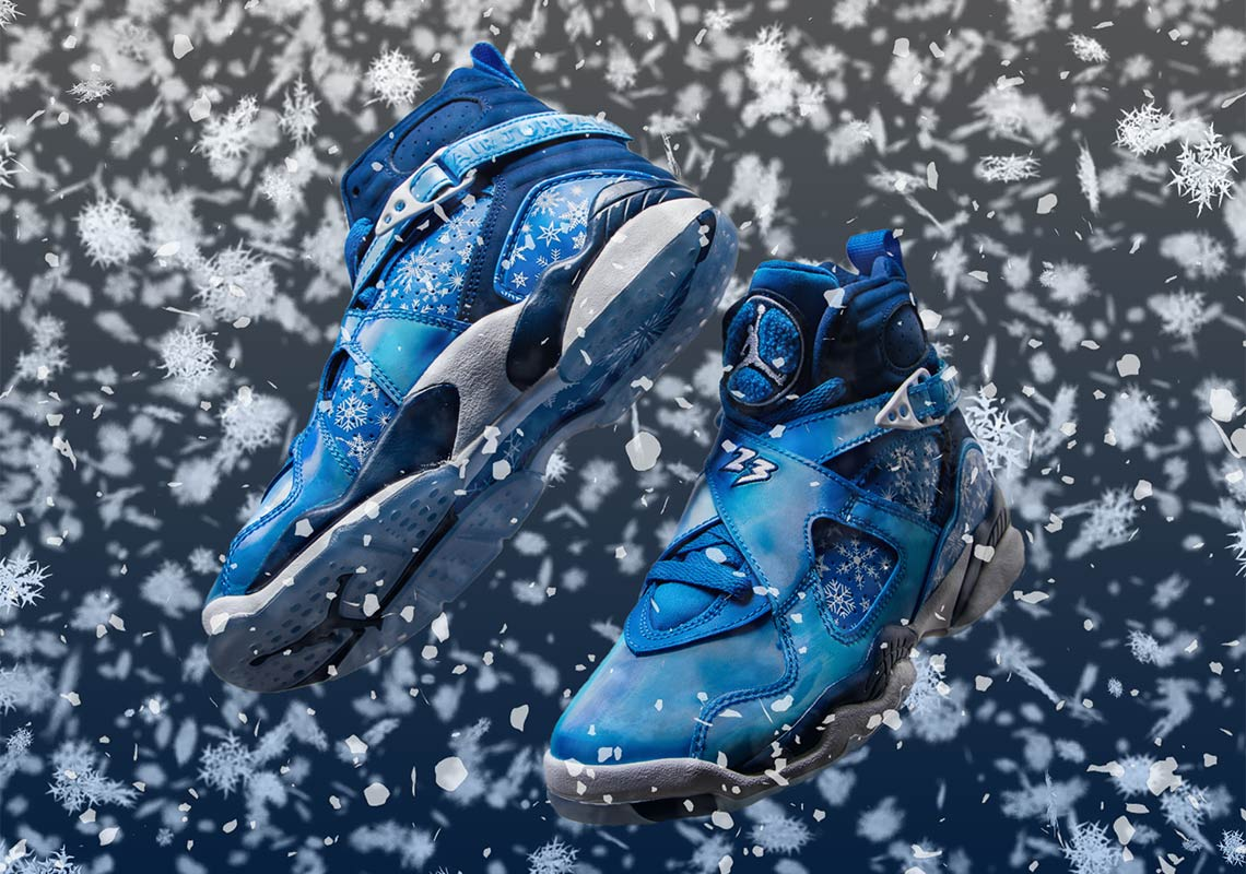 "d9ccae1729d09d The Air Jordan 8 ""Snowflake"" Is Dropping On December 1st"