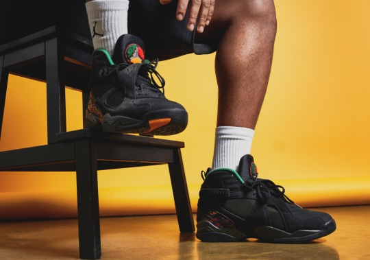 "The Air Jordan 8 ""Urban Jungle"" Inspired By The Air Raid 2 Is Dropping In December"