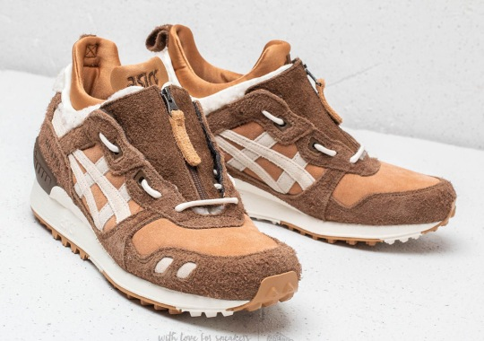 ASICS Adds Hairy Suede And Sherpa Fleece To The GEL-Lyte MT