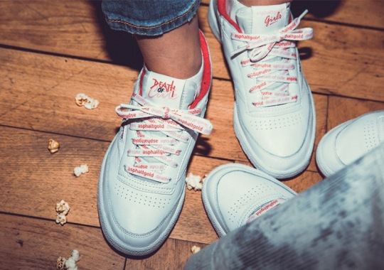 "Asphaltgold x Reebok Club C ""Death Of Cute"" Coming In December"