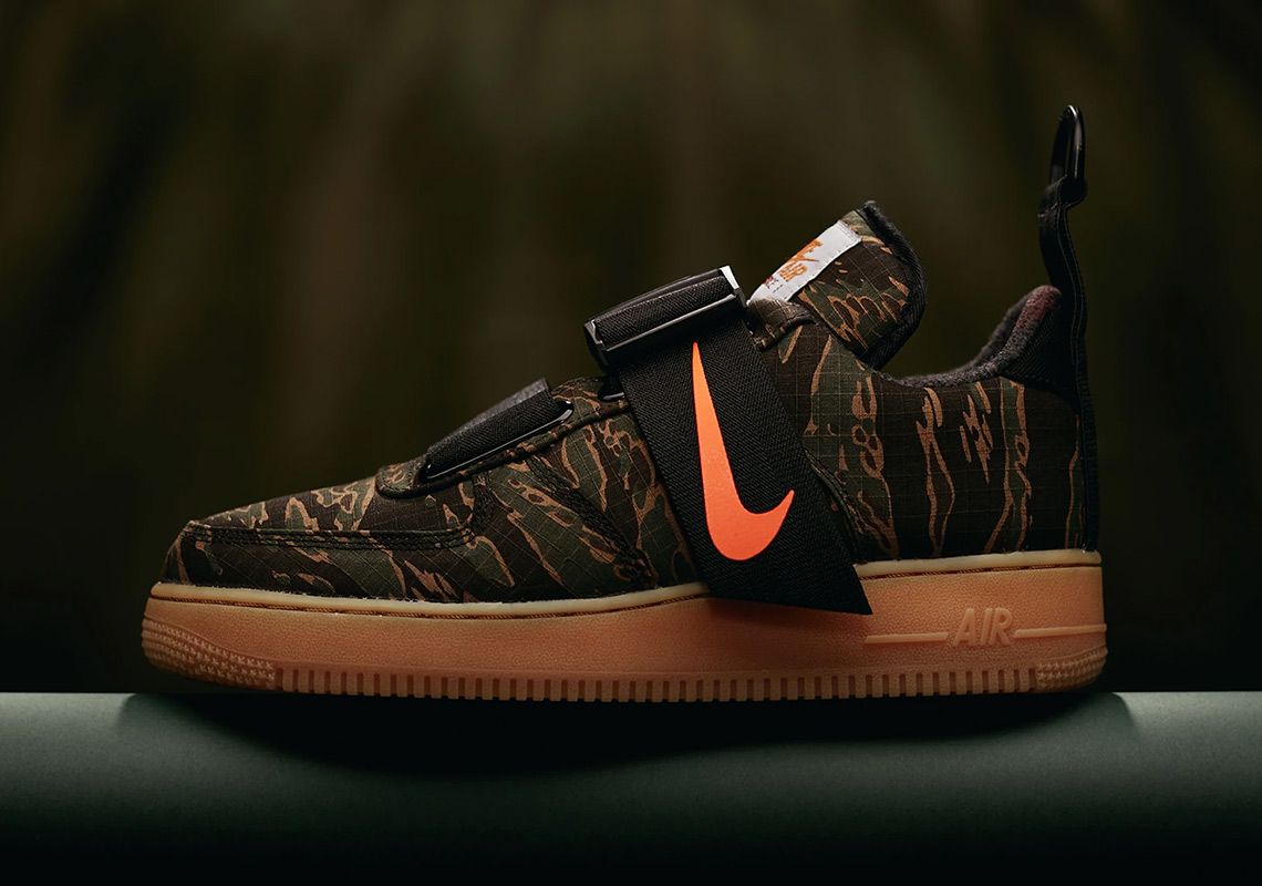 623e64f72e154 Carhartt Nike Air Force 1 Low Utility Store List | SneakerNews.com