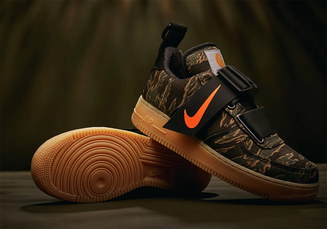 Carhartt Nike Air Force 1 Low Utility Store List Sneakernews Com