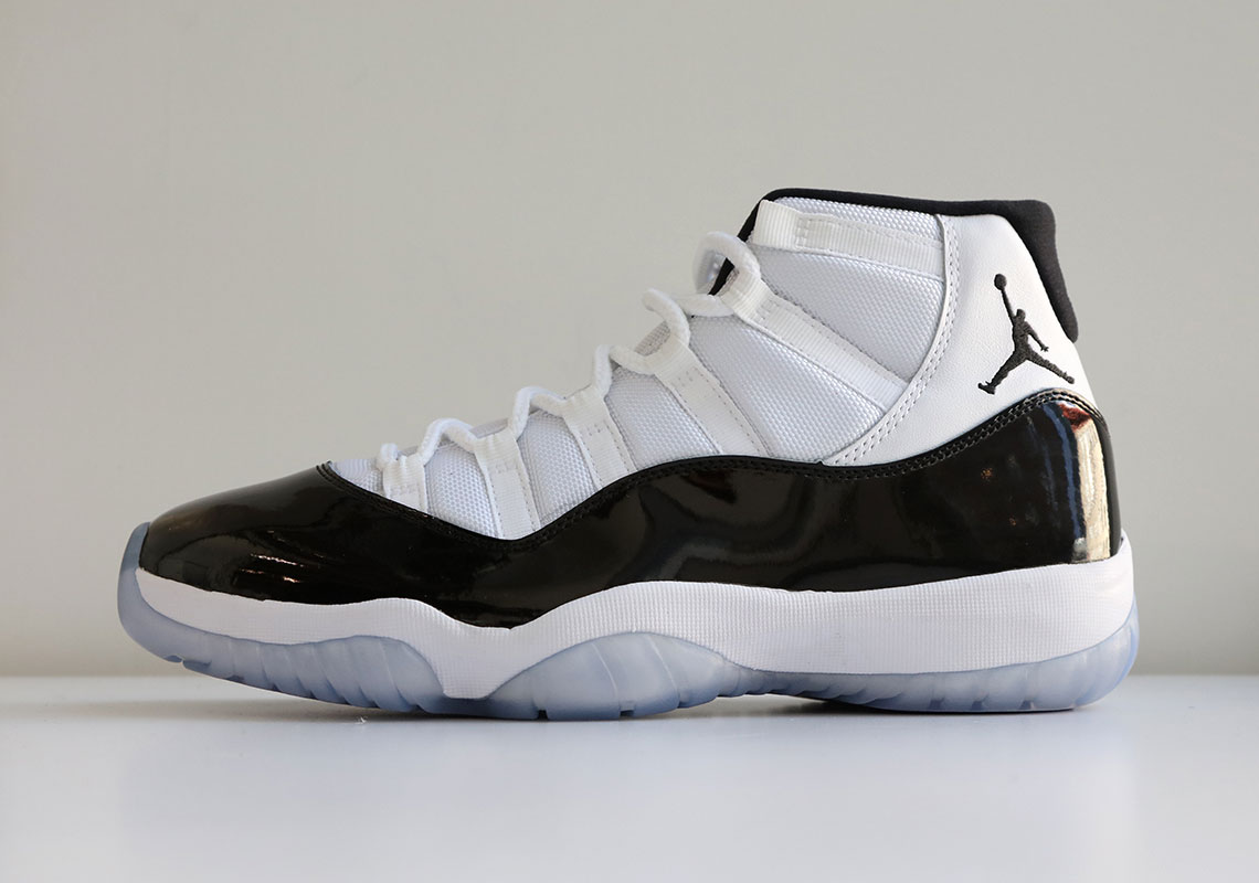 "the latest be08b b0ff0 Where To Buy The Air Jordan 11 ""Concord"""
