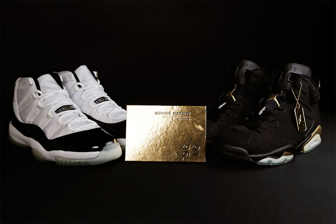 newest collection bda1c 522f5 Air Jordan Defining Moments Package (2006)