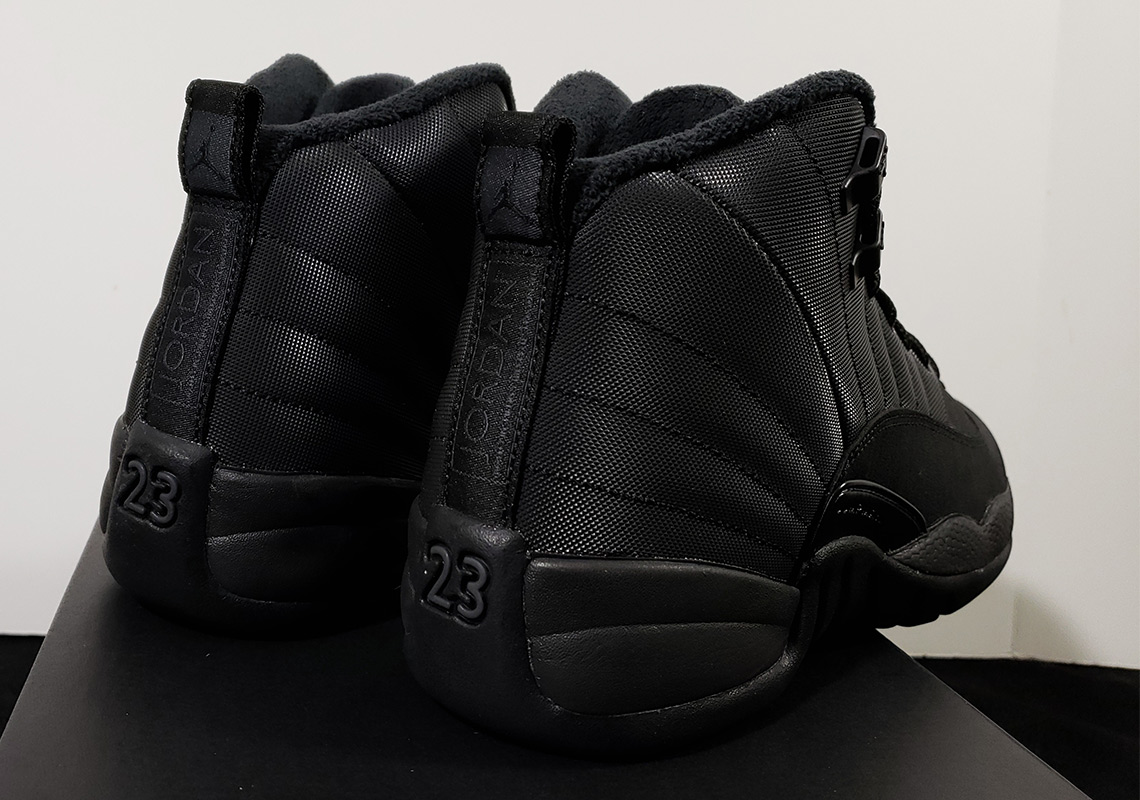 3321d9352af1 Jordan 12 GS Winterized Black Release Info