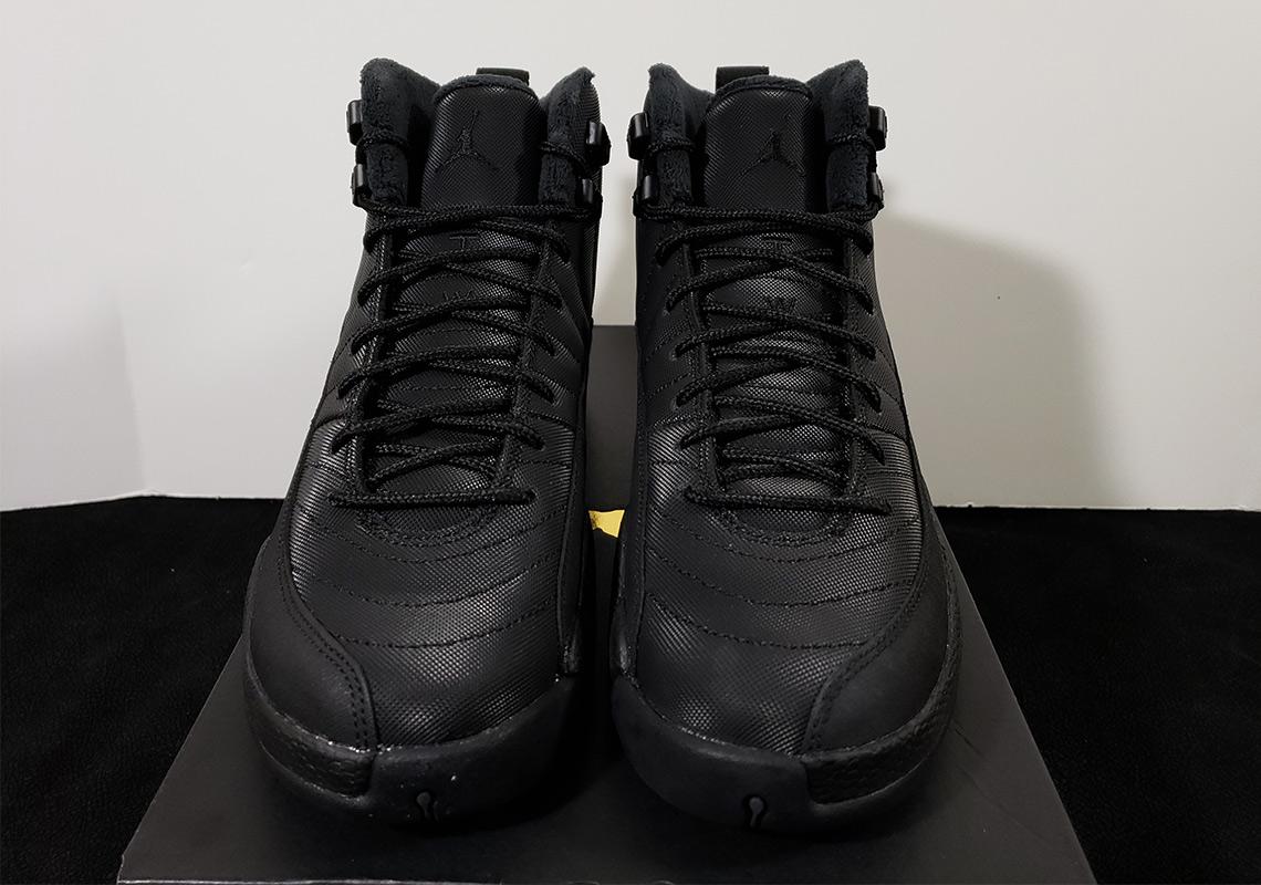 meet 8a75f b52f6 Jordan 12 GS Winterized Black Release Info | SneakerNews.com