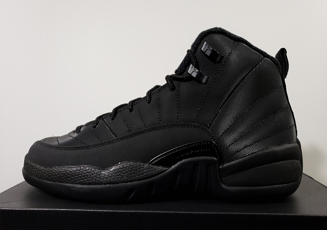 meet bde1a 81133 Jordan 12 GS Winterized Black Release Info | SneakerNews.com