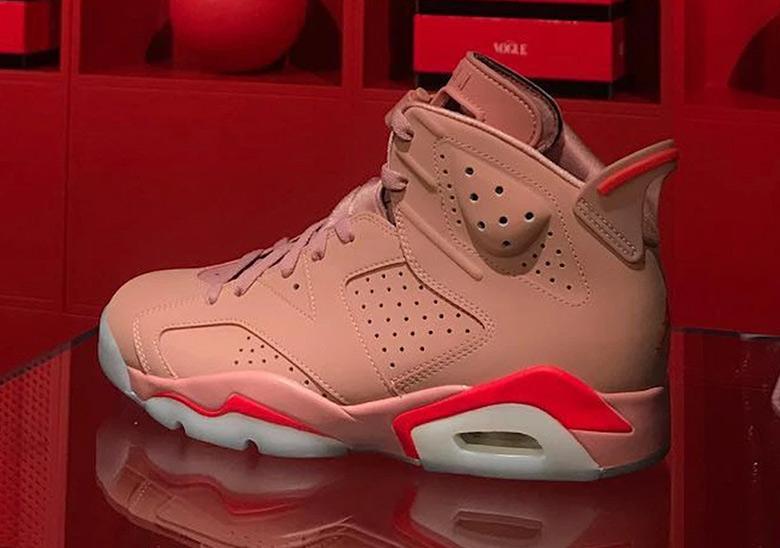 Jordan 6 Aleali May Rust Pink CI0550