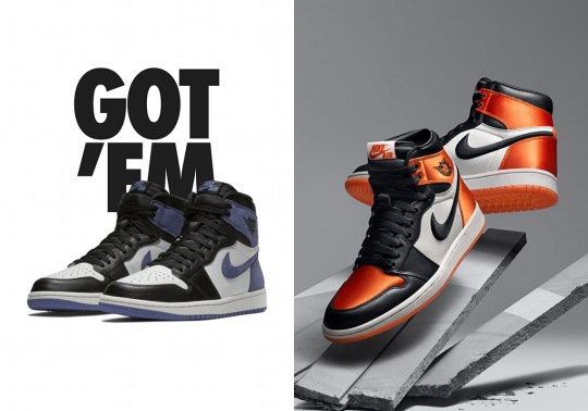 Jordan Reserve On SNKRS Restocks Bred Toe 1, Satin Shattered Backboard, And Much More