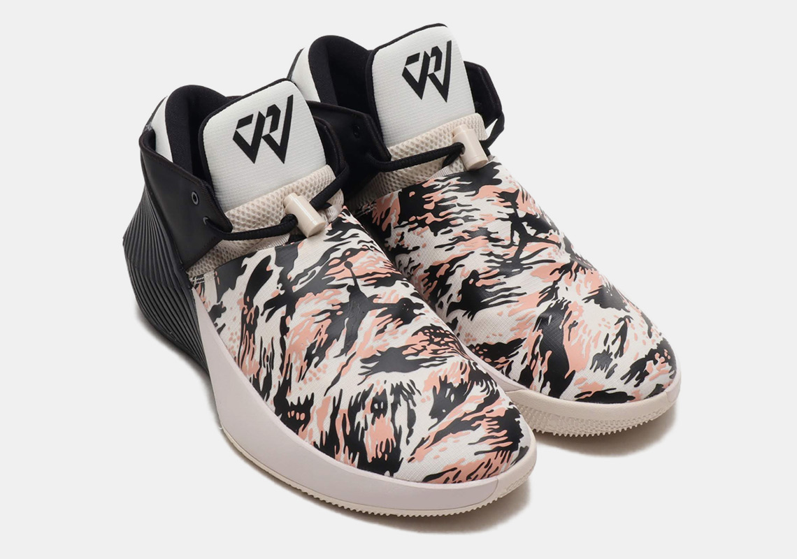 wholesale dealer 070e1 fe3f5 Russell Westbrook s Jordan Signature Shoe Adds Pink Camo Prints