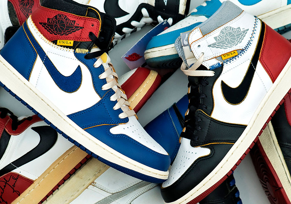 sports shoes 4ed46 bb96f Inspiration Behind Union Jordan 1 Shoes Release ...