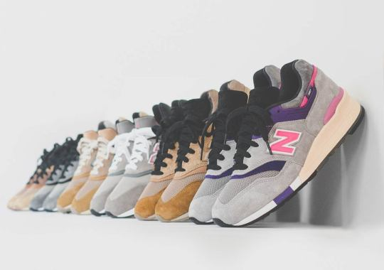 Kith And New Balance Debut 2018 Footwear Collection