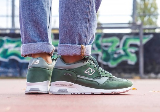 The New Balance 1500 Appears In A Mossy Green