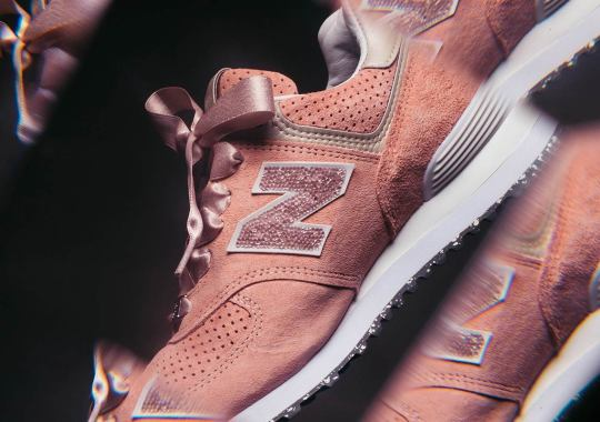 New Balance Adds Swarovski Crystals To The 574