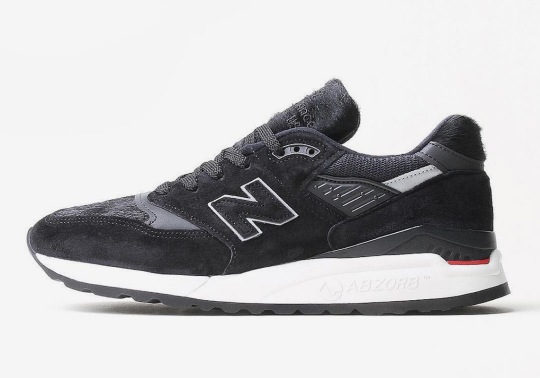 New Balance Adds Pony Hair Uppers To The 998