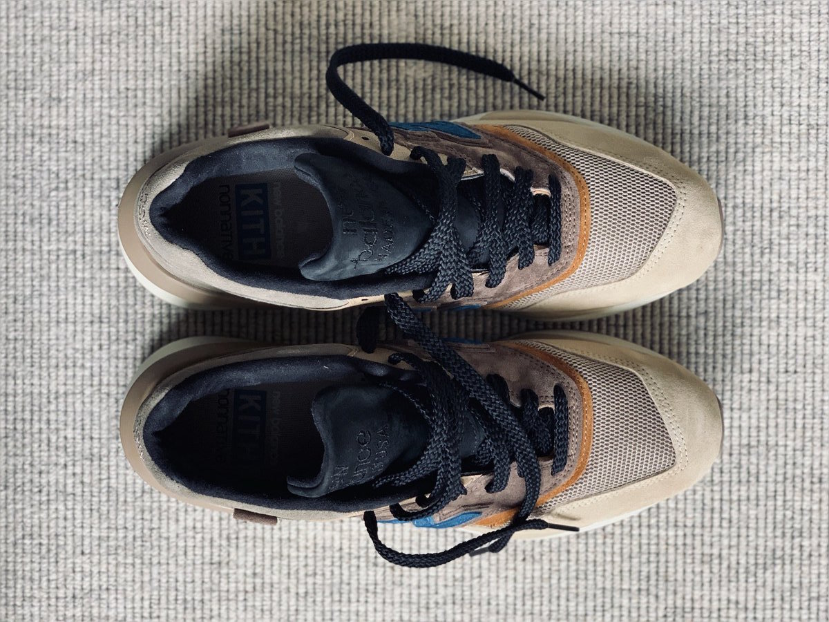 super popular 39b7f 28a22 Kith x nonnative x New Balance 997 Leaked Image ...