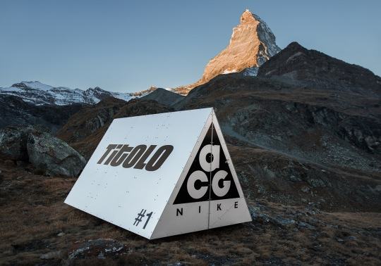 Titolo Presents The Nike ACG Winter 2018 Collection With A Custom Tent