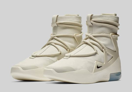 Official Images Of The Nike Air Fear Of God 1