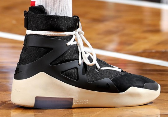 PJ Tucker Debuts The Nike Air Fear Of God 1 In NBA Game