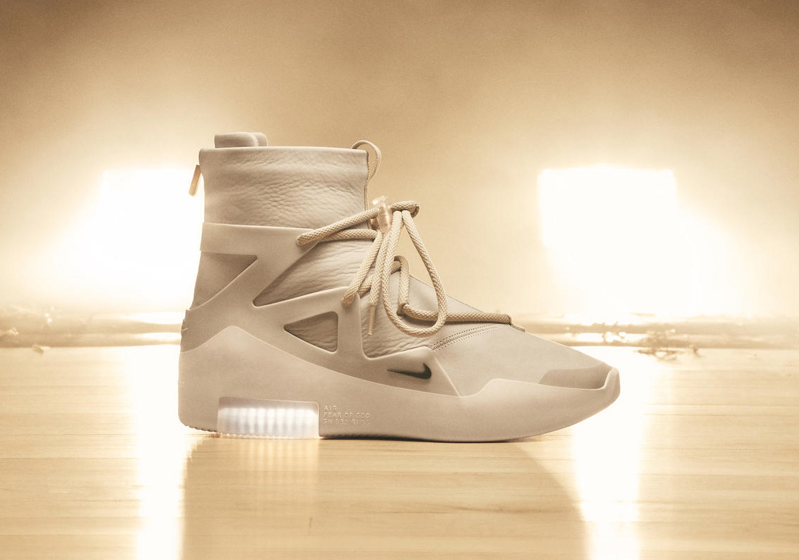7e6916148ce Nike Air Fear Of God 1 Official Release Date