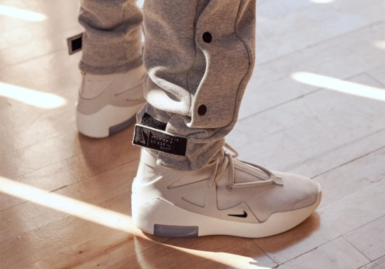 Jerry Lorenzo And Nike Unveil Air Fear Of God Collection