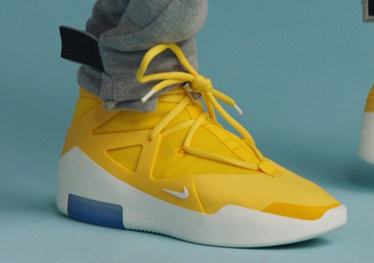 The Nike Air Fear Of God 1 Revealed In Yellow