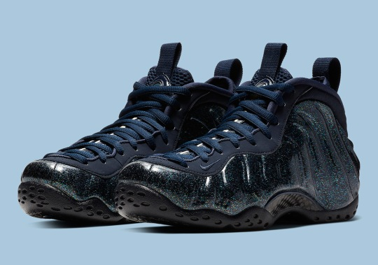 The Nike Air Foamposite One Gets Glittery For Women
