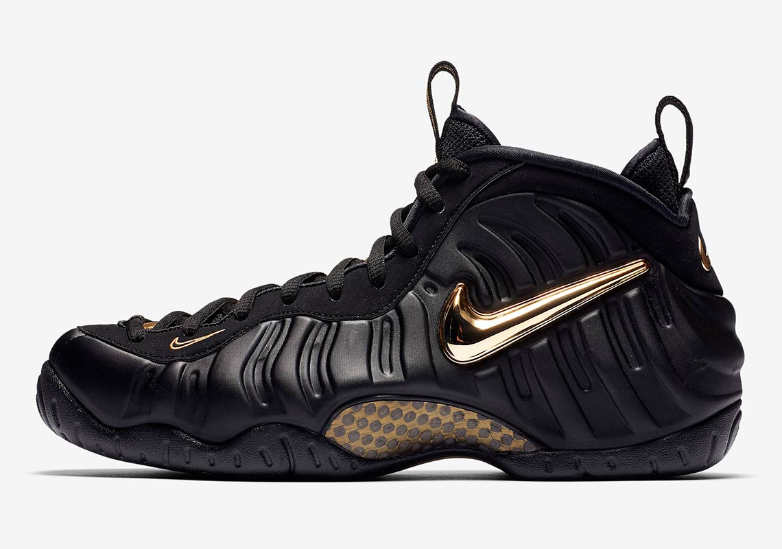 nike foamposite pro gold 624041 009 where to buy sneakernews rh sneakernews com