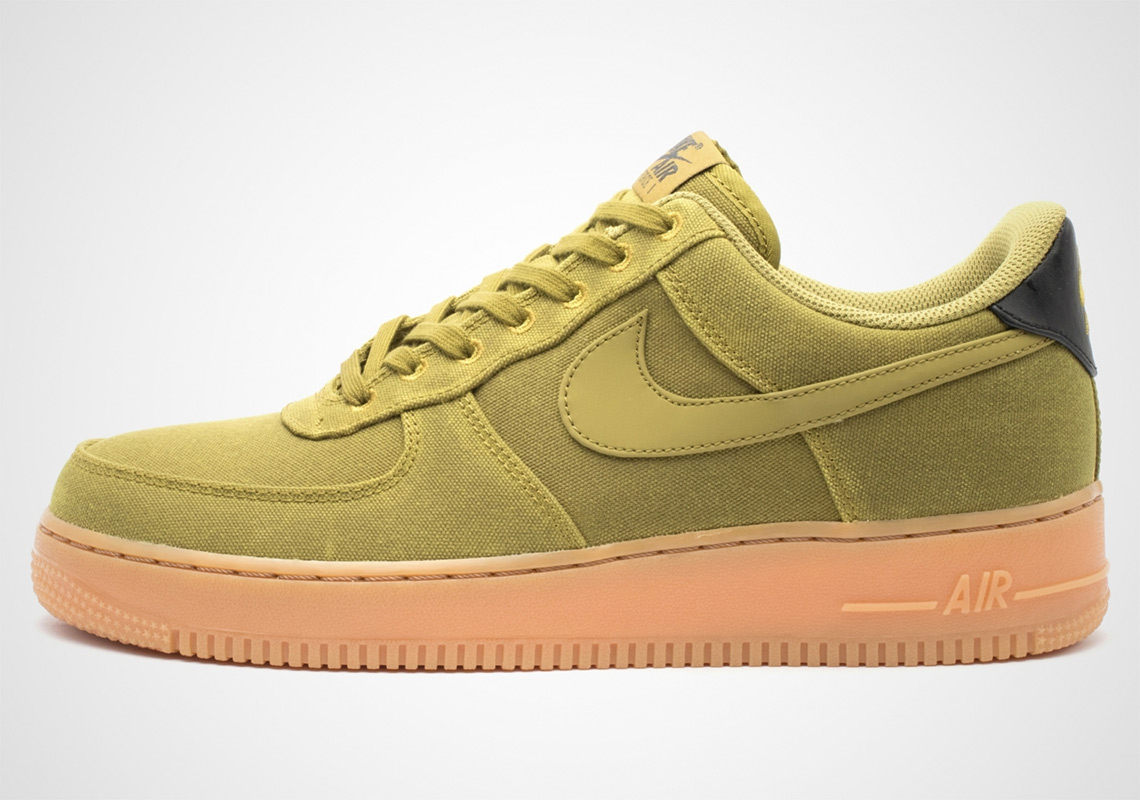 177f313bb9f9 Nike Drops Four Premium Air Force 1 Styles With Gum Soles