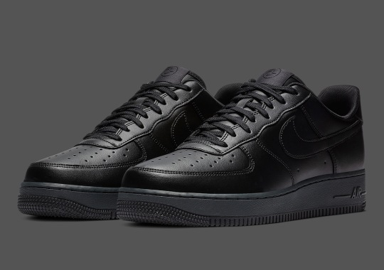 Nike Air Force 1 Flyleather Is Releasing In Black