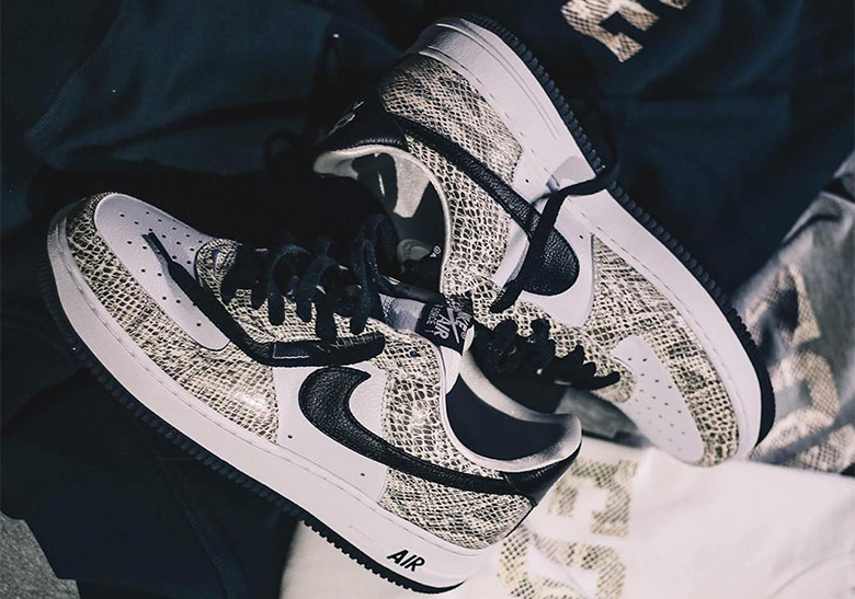 """timeless design c0340 ae410 The Nike Air Force 1 Low """"Cocoa Snake"""" Releases On November 16th"""