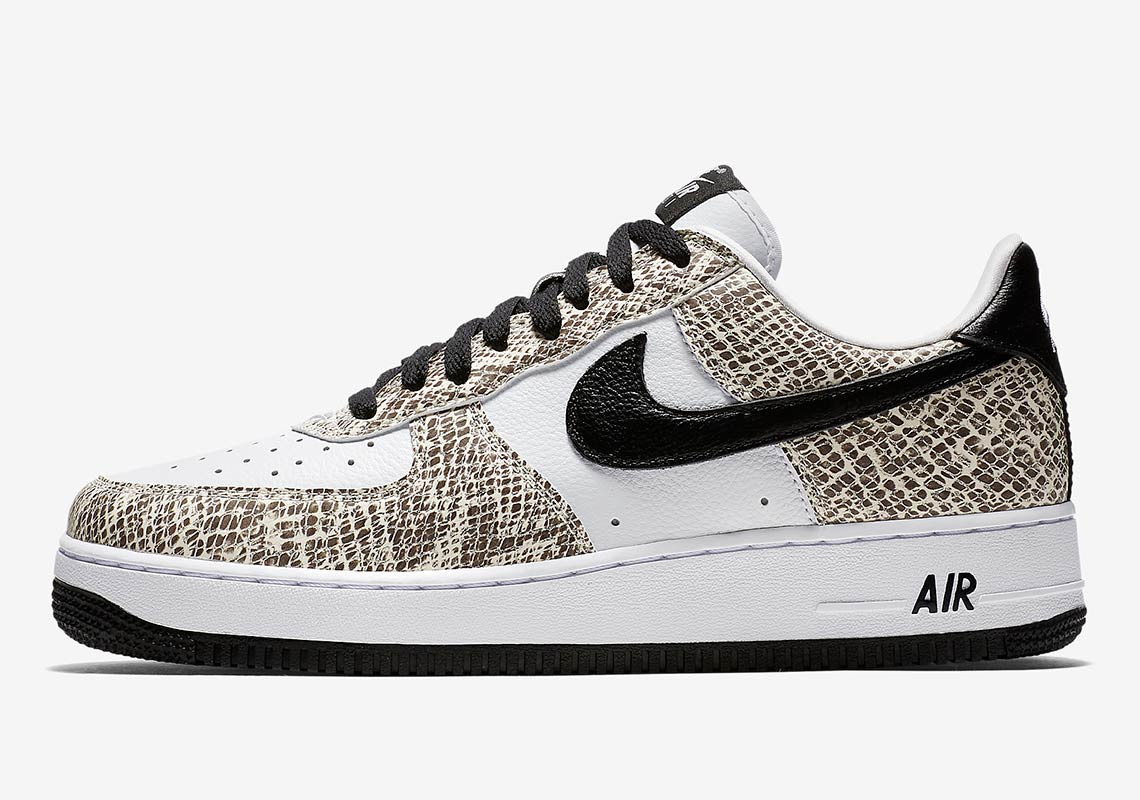 release date: f71bf b49af Nike Air Force 1 Cocoa Snake 845053-104 Info | SneakerNews.com