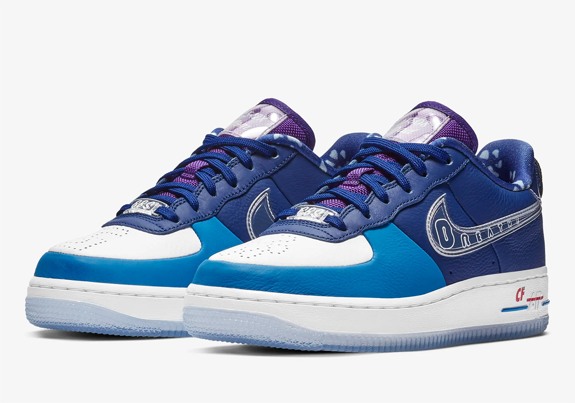 new concept 1dfaf 1dc01 The Details Behind The Nike Air Force 1 Low Doernbecher