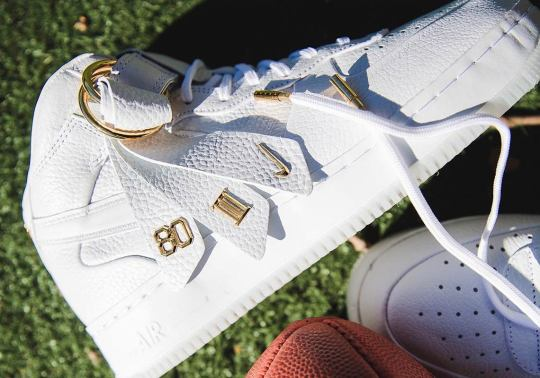 The Victor Cruz x Nike Air Force 1 Mid Is Available In White